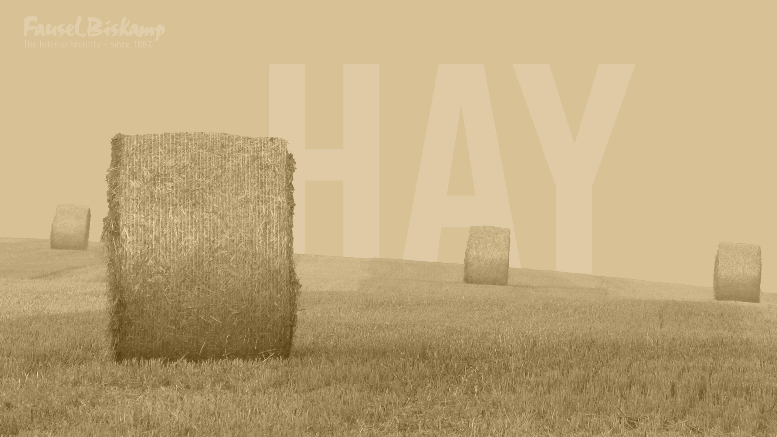 Hay Wallpaper